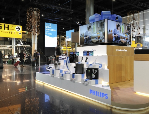 Philips Airport Pop Up – the Gift of Innovation