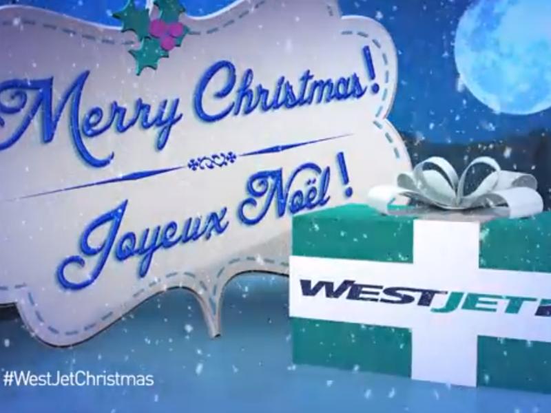 WestJet Christmas